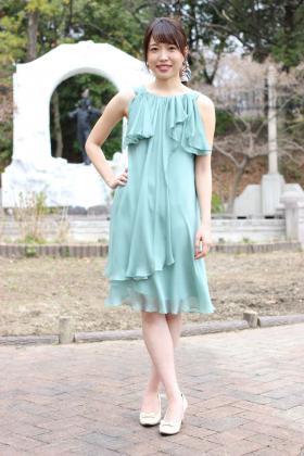 ノースリーブのドレス